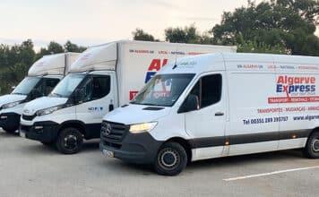 Algarve Express vans in this post-Brexit year
